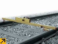 83.07-medium Путевой шаблон для контроля ширины колеи и возвышения на стрелочных переводах