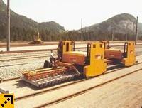PA 250 Портальный путеукладчик для реконструкции пути