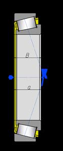 Подшипники роликовые радиально-упорные с коническими роликами однорядные