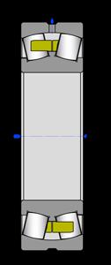 Подшипники роликовые радиальные сферические двухрядные