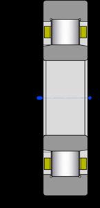 Подшипники роликовые цилиндрические однорядные 1