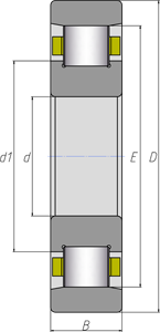 Подшипники роликовые цилиндрические однорядные 2