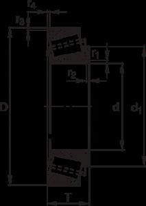 Конические роликоподшипники с керамическим покрытием